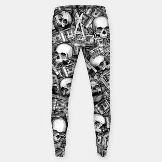Root Of All Evil Sweatpants Bild der Miniatur