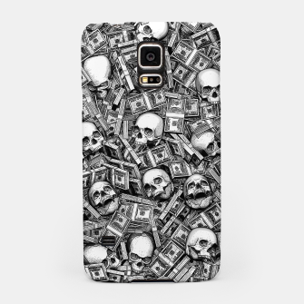 Miniatur Root Of All Evil Samsung Case, Live Heroes