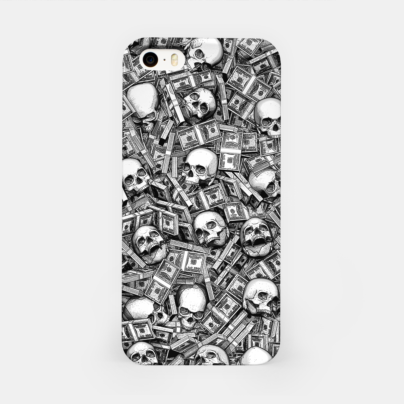 Image of Root Of All Evil iPhone Case - Live Heroes