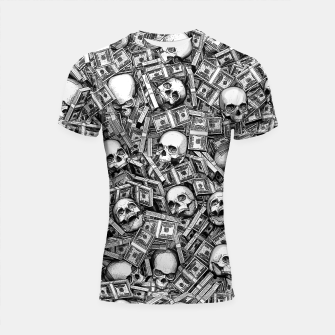 Root Of All Evil Shortsleeve rashguard Bild der Miniatur