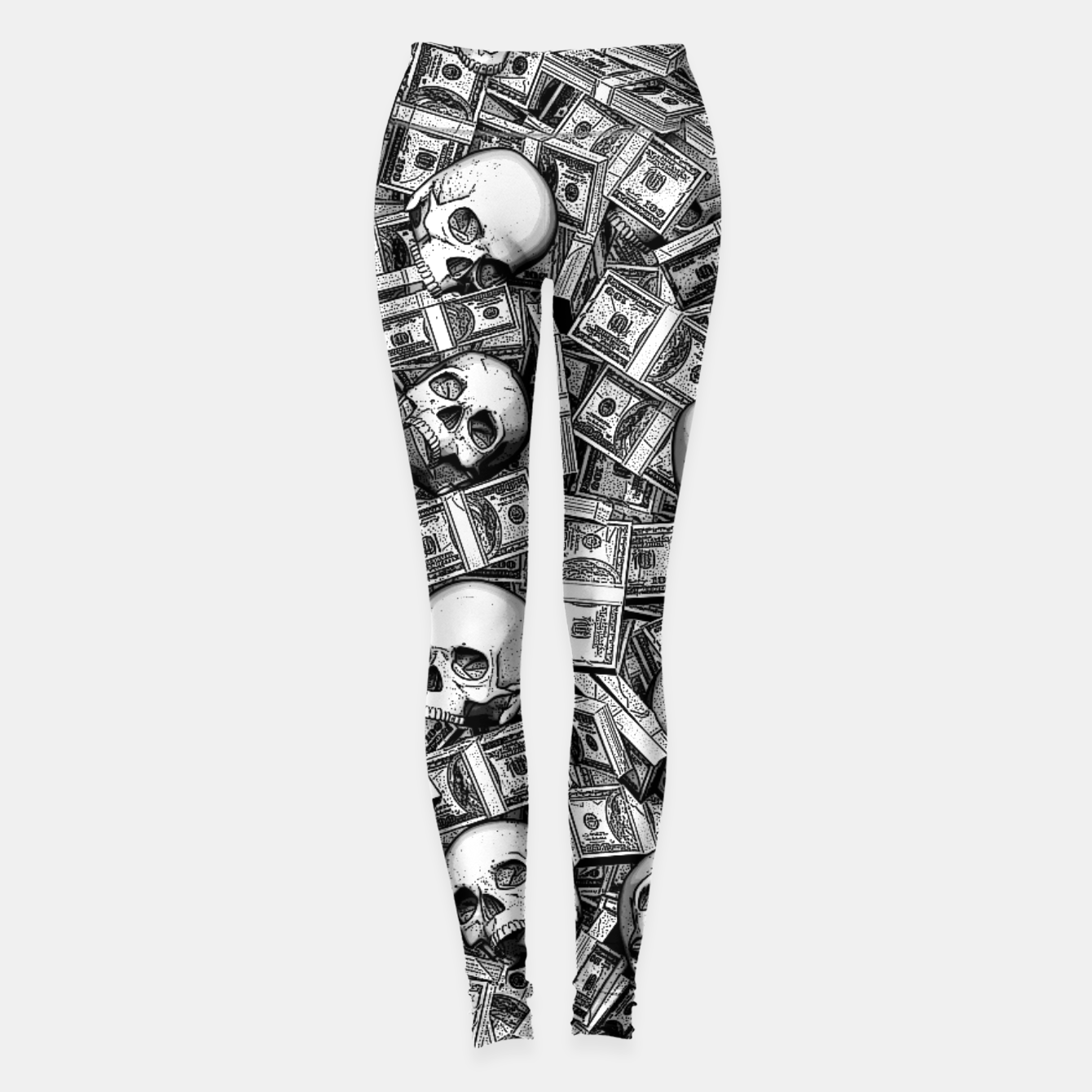 Image of Root Of All Evil Leggings - Live Heroes