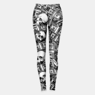 Root Of All Evil Leggings Bild der Miniatur