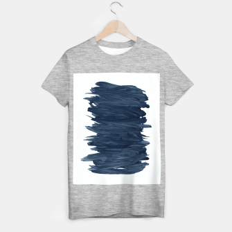 Abstract Minimalism #1 #minimal #ink #decor #art  T-Shirt regulär obraz miniatury