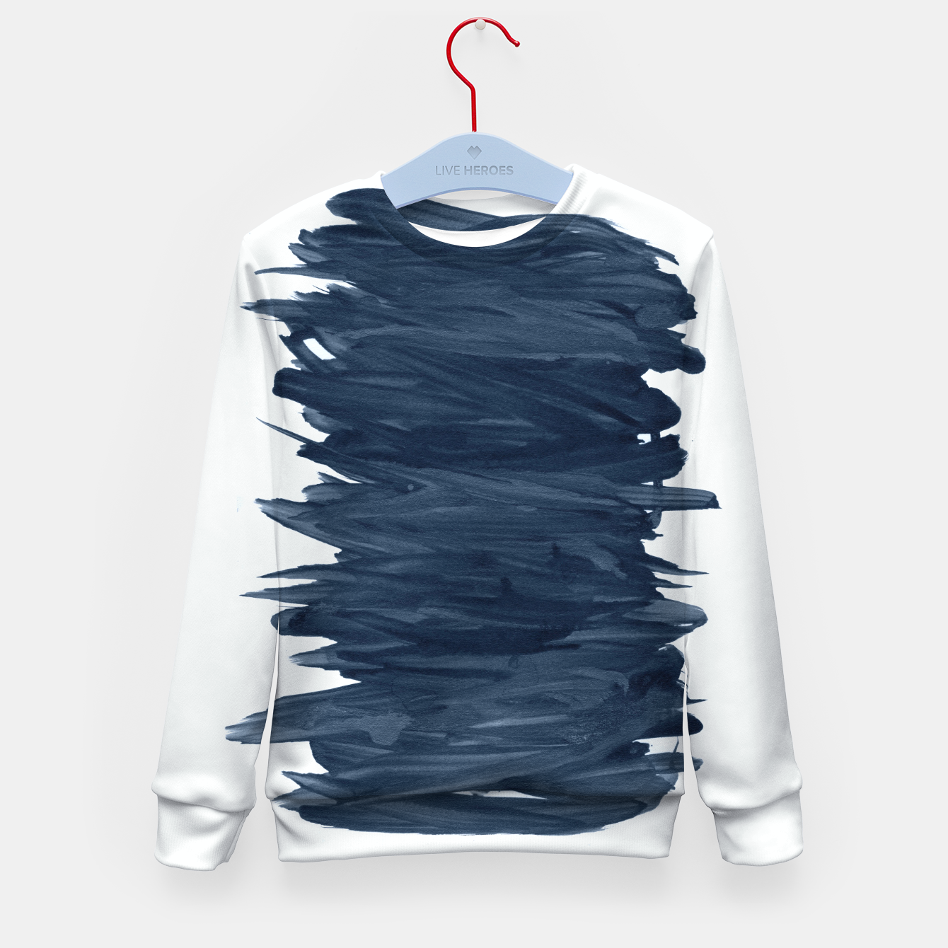 Zdjęcie Abstract Minimalism #1 #minimal #ink #decor #art  Kindersweatshirt - Live Heroes