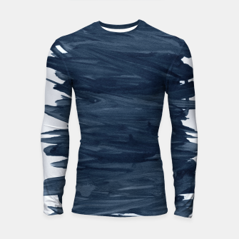 Abstract Minimalism #1 #minimal #ink #decor #art  Longsleeve rashguard obraz miniatury