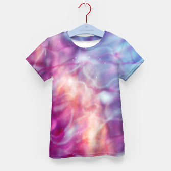 Thumbnail image of Pink blue abstract Kid's t-shirt, Live Heroes