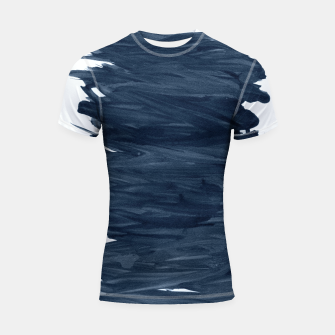 Miniaturka Abstract Minimalism #1 #minimal #ink #decor #art  Shortsleeve rashguard, Live Heroes