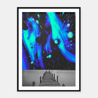 Thumbnail image of 037 Framed poster, Live Heroes
