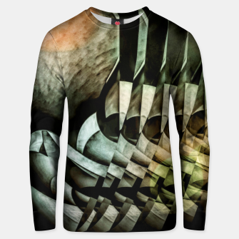 Miniatur transformation Unisex sweater, Live Heroes