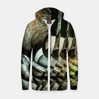 Thumbnail image of transformation Zip up hoodie, Live Heroes