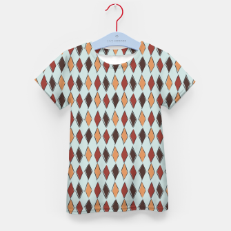 Thumbnail image of Harlequin Circus Espresso Kid's t-shirt, Live Heroes