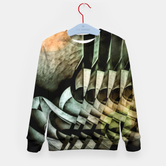 Thumbnail image of transformation Kid's sweater, Live Heroes