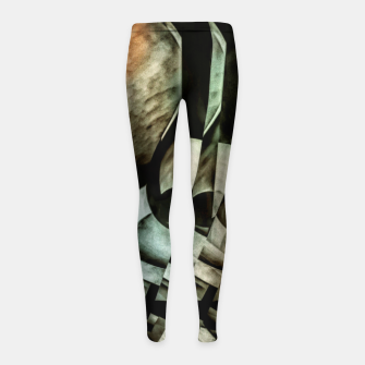Miniatur transformation Girl's leggings, Live Heroes
