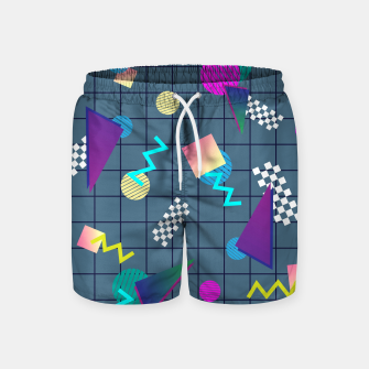 Miniaturka Back to the Eighties Swim Shorts, Live Heroes