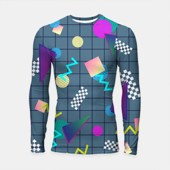 Thumbnail image of Back to the Eighties Longsleeve rashguard , Live Heroes
