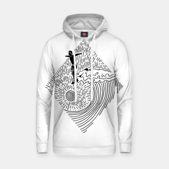 Thumbnail image of Surf Nose Hoodie, Live Heroes