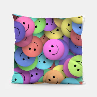 Miniatur Smiley Pillow, Live Heroes