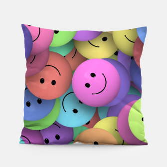 Thumbnail image of Smiley Pillow, Live Heroes