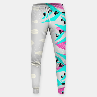 Thumbnail image of It's Raining Paradise | Tropical Flowering Plants Sweatpants, Live Heroes