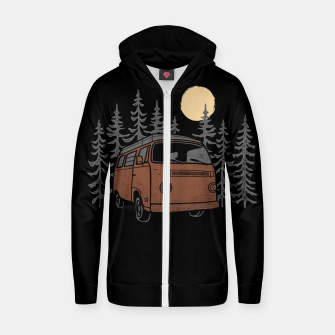 Adventure Van Zip up hoodie miniature