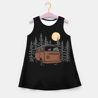 Adventure Van Girl's summer dress miniature
