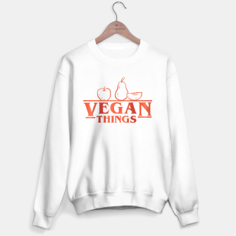 Thumbnail image of Vegan Things Sweater regular, Live Heroes