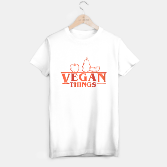 Thumbnail image of Vegan Things T-shirt regular, Live Heroes