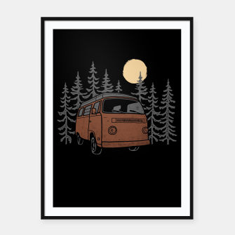 Adventure Van Framed poster miniature
