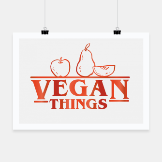 Thumbnail image of Vegan Things Poster, Live Heroes