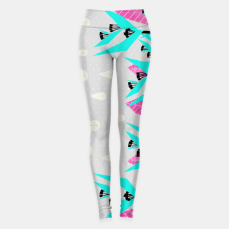 Thumbnail image of It's Raining Paradise | Tropical Flowering Plants Leggings, Live Heroes