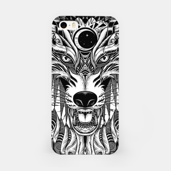 Miniatur Wolf iPhone Case, Live Heroes