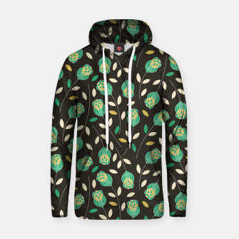 Thumbnail image of Flowers | Yellow And Green Floral Pattern Hoodie, Live Heroes