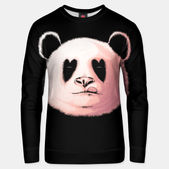Miniatur Panda in Love Unisex sweater, Live Heroes