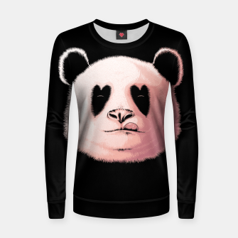 Miniatur Panda in Love Women sweater, Live Heroes