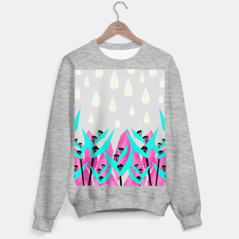 Thumbnail image of It's Raining Paradise | Tropical Flowering Plants Sweater regular, Live Heroes