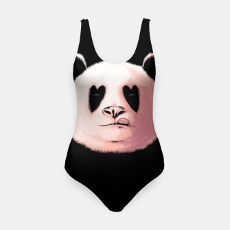 Miniatur Panda in Love Swimsuit, Live Heroes