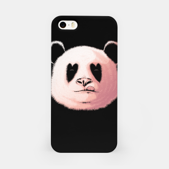 Miniatur Panda in Love iPhone Case, Live Heroes