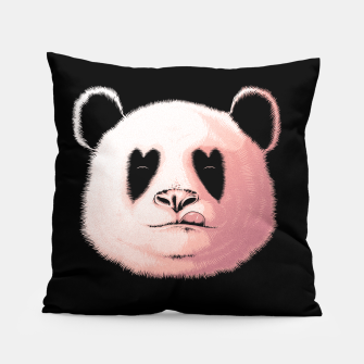 Miniatur Panda in Love Pillow, Live Heroes