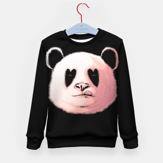 Miniatur Panda in Love Kid's sweater, Live Heroes