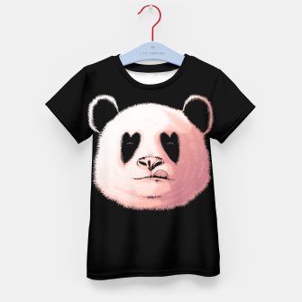 Miniatur Panda in Love Kid's t-shirt, Live Heroes