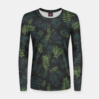 Thumbnail image of Tropical Pattern #3 Women sweater, Live Heroes