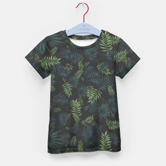 Thumbnail image of Tropical Pattern #3 Kid's t-shirt, Live Heroes