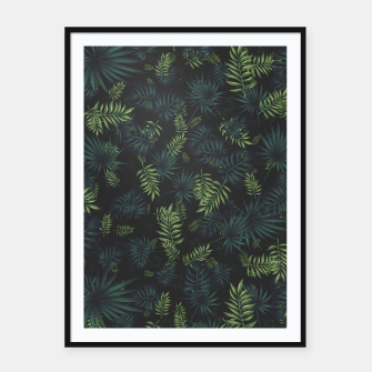 Thumbnail image of Tropical Pattern #3 Framed poster, Live Heroes