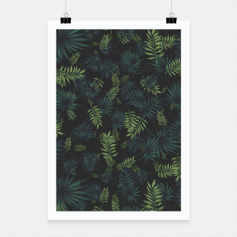 Thumbnail image of Tropical Pattern #3 Poster, Live Heroes