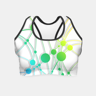 Thumbnail image of Neural Network Crop Top, Live Heroes
