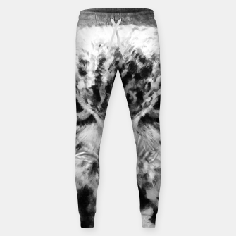 Thumbnail image of owl look digital painting orcbw Sweatpants, Live Heroes
