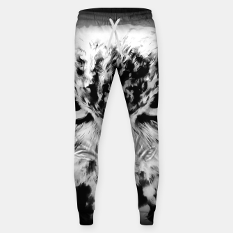 Thumbnail image of owl look digital painting reacbw Sweatpants, Live Heroes