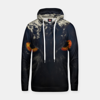 owl look digital painting orcfnd Hoodie thumbnail image