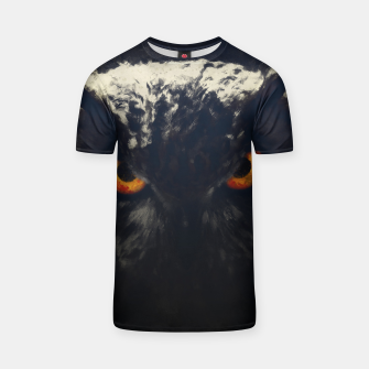 owl look digital painting orcfnd T-shirt miniature
