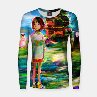 spirited away Women sweater obraz miniatury